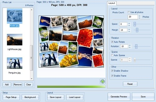 Creare collage di foto online gratis techbook appunti for Programma per arredare casa on line gratis