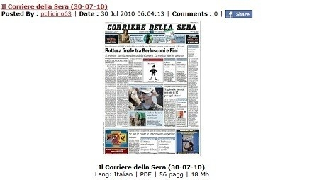 scaricare quotidiani,gratis,online,pdf,download,free,quotidiani in pdf
